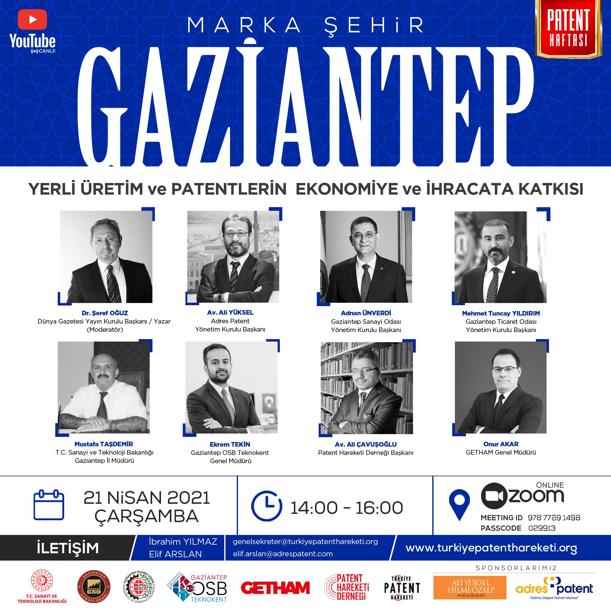 1 milyon patent hedefinin yeni durağı Gaziantep